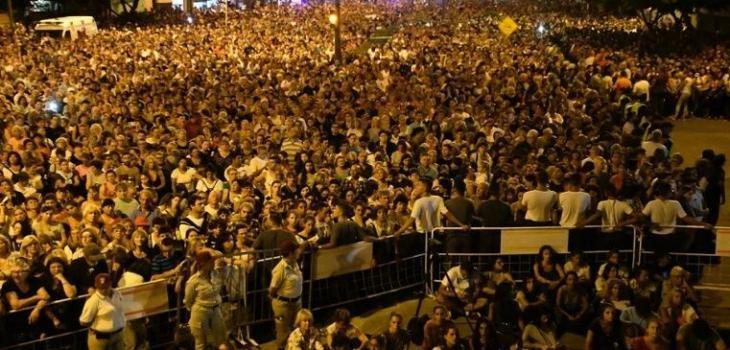 Más de 300 mil fieles estuvieron en el Vía Crucis del Padre Ignacio