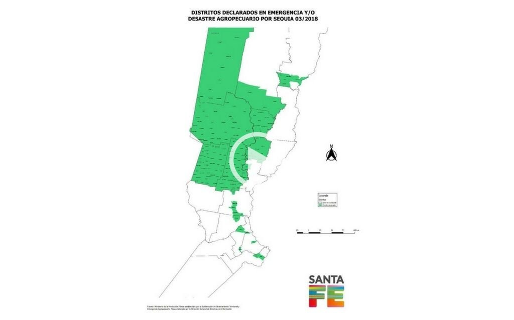 Sequía: Emergencia para casi 6 millones de hectáreas