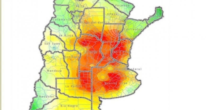 Sequia: ya lleva 4 meses y es la peor de los últimos 50 años según la Bolsa de Rosario