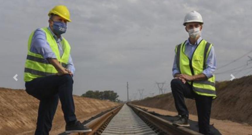 Destacan las obras que permitirán que lleguen los trenes a los puertos de la provincia
