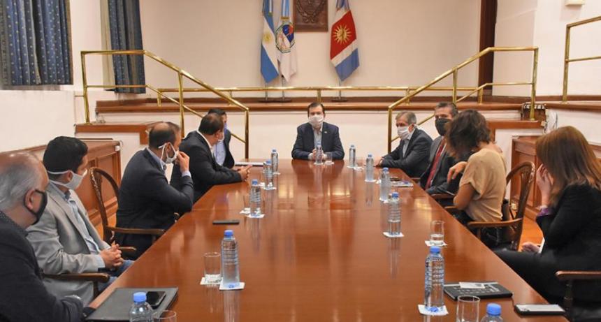 Zamora se reunió con representantes del sector turístico