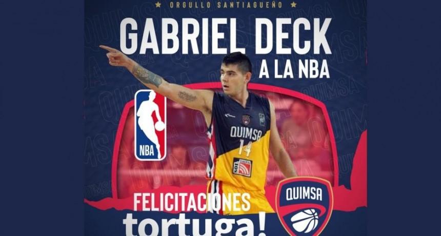Histórico: El santiagueño Gabriel Deck a un paso de la NBA