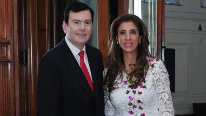 La gobernadora y el senador Zamora saludaron a los santiagueños