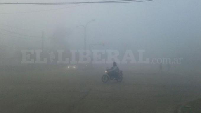 Espesa neblina sorprendió a los añatuyenses