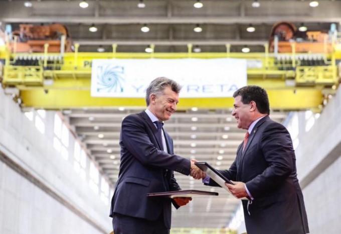 Argentina y Paraguay cerraron un conflicto de 30 años por Yacyretá