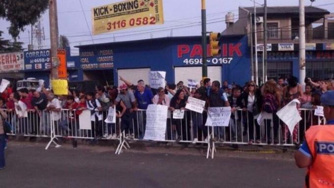 El Gobierno cree que la manifestación contra Macri en La Matanza fue organizada
