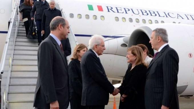 El presidente de Italia llegó con más de 40 empresarios y hoy lo ve a Macri