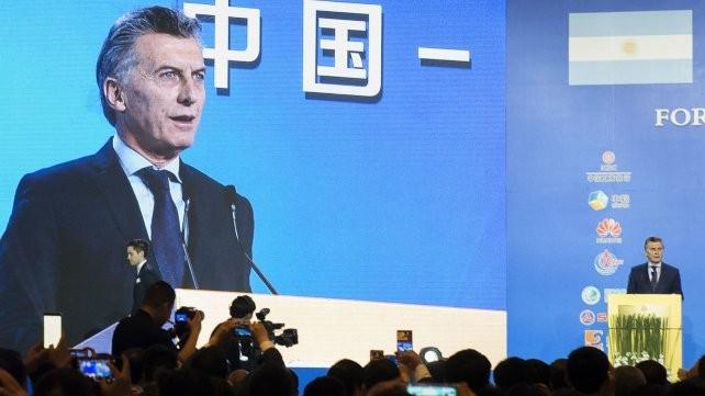 Macri invitó a los empresarios chinos a invertir en la Argentina