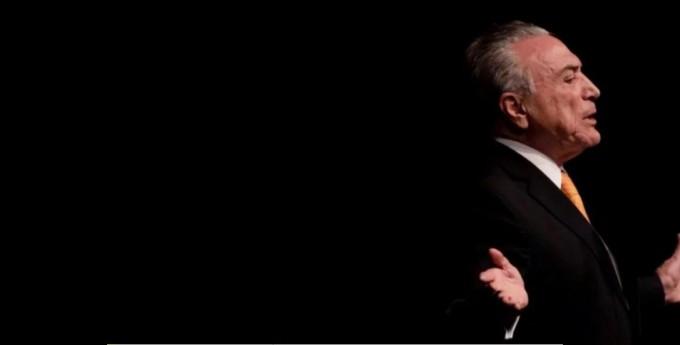Michel Temer al borde del abismo: fue grabado ordenando el pago de coimas