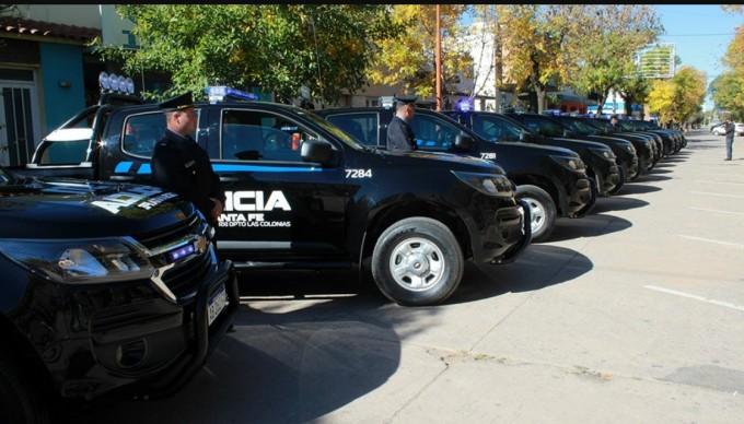 Plan del Norte: nuevos móviles para las fuerzas de seguridad de Vera y 9 de Julio