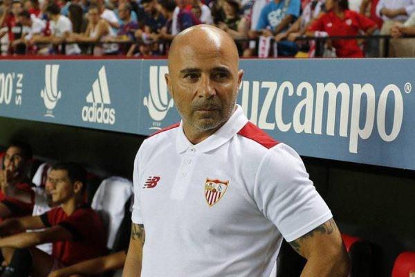 Silbadísimo pero con una goleada: así se fue Sampaoli del Sevilla