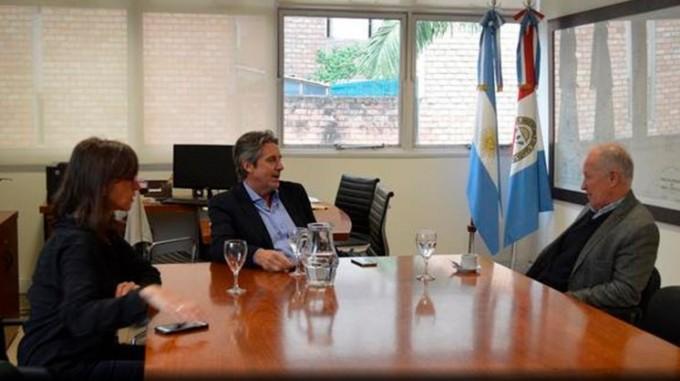 Laguna La Picasa: Lamberto comprometió su apoyo para coordinar acciones
