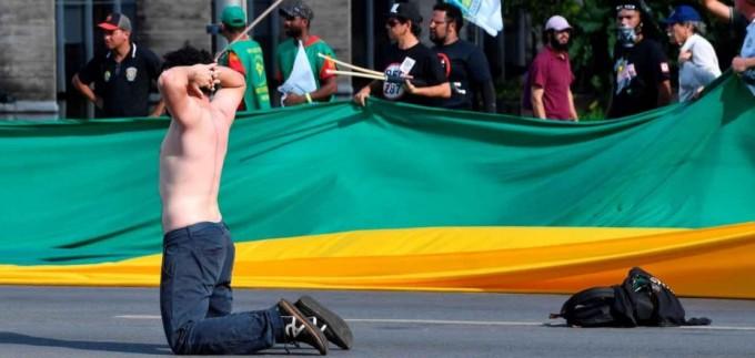 El día que Temer convocó a las Fuerzas Armadas para reprimir manifestaciones
