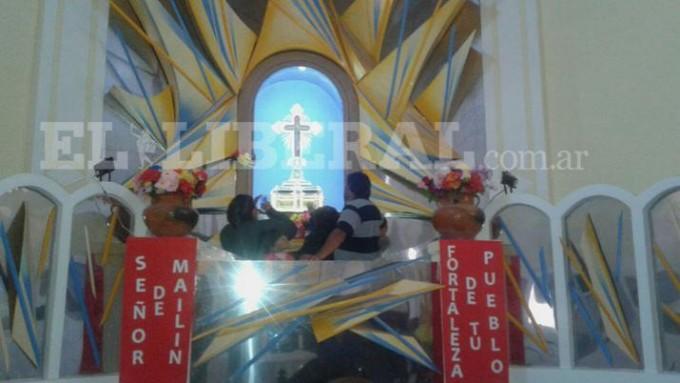 Comienza el ingreso de los peregrinos a Mailín