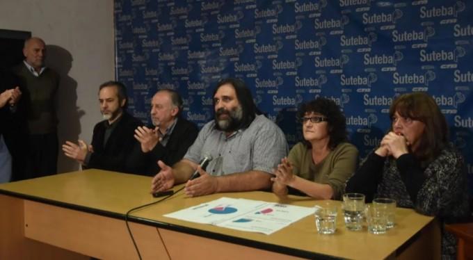 Baradel aclaró que los docentes no desistirán del reclamo por la paritaria nacional