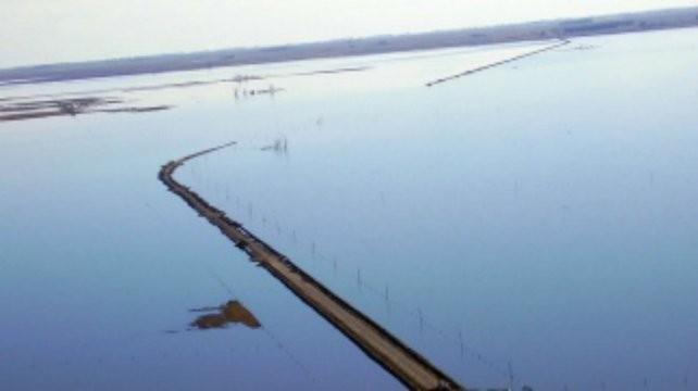 Se complica la situación en el sur provincial por las crecidas de las lagunas La Picasa y Melincué