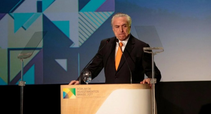La Corte Suprema de Brasil ordenó interrogar a Temer