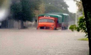 Un temporal de 180 mm complica a Villa Ocampo