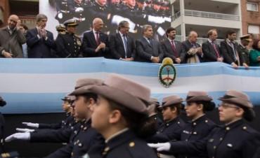 El vicegobernador encabezó el acto central del 25 de Mayo