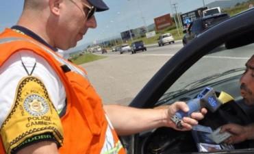 Camionero que dio positivo en alcoholemia quiso