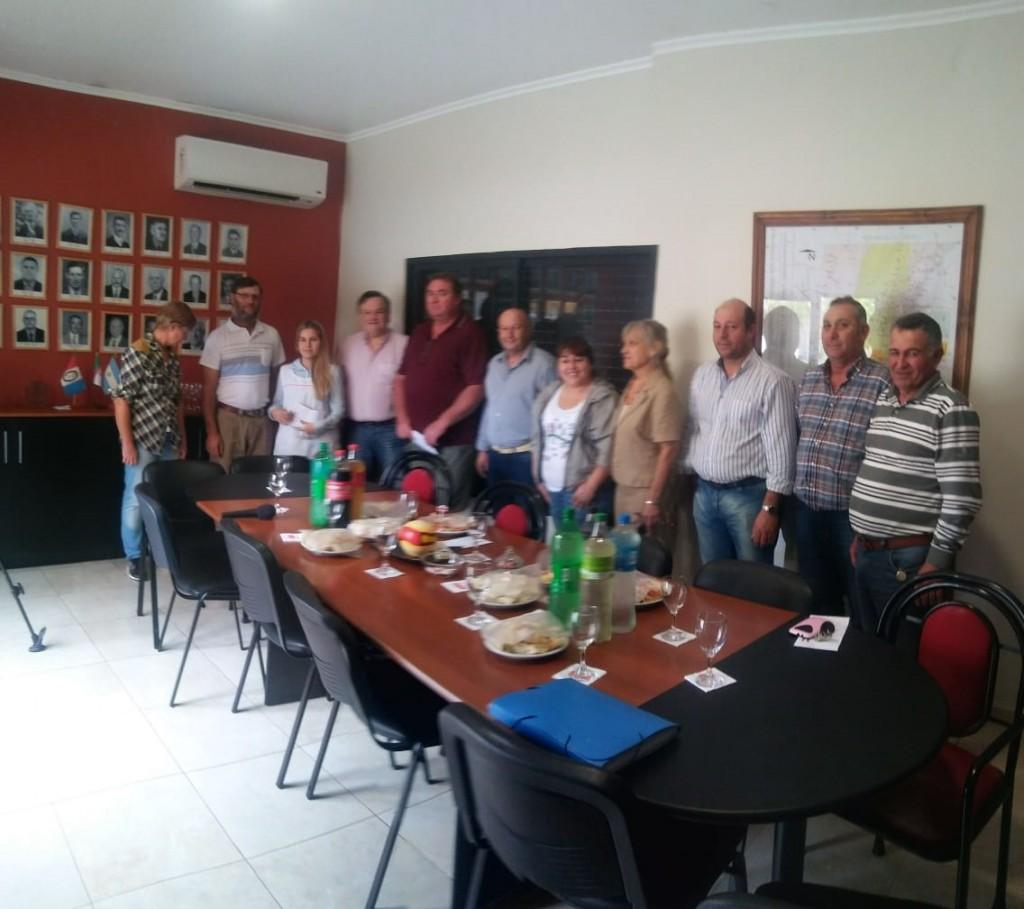 El Senador Michlig visitó Colonia Bossi, y desarrolló distintas actividades junto a Gustavo Capella