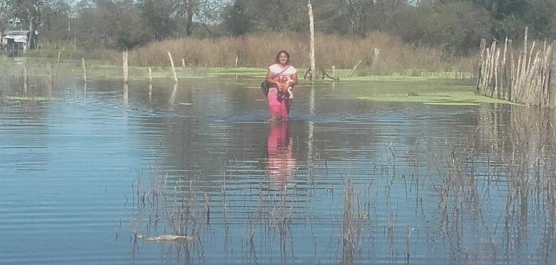 El agua que ingresa de Chaco puede complicar por varios meses al norte (videos)