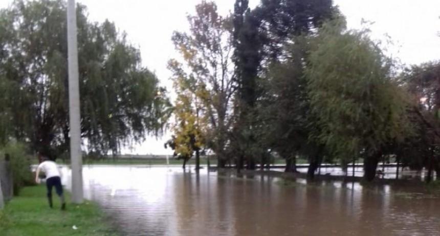 Un diluvio de hasta 200 milímetros en el centro de la provincia de Santa Fe
