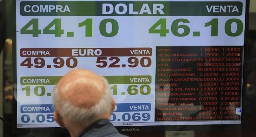 Guerra comercial impactó en el dólar, que se acercó a $ 46 (agrodivisas moderaron alza)