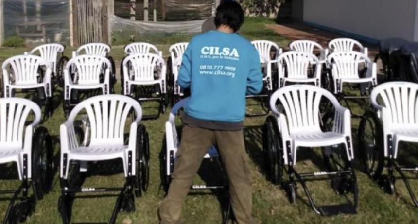 Cilsa donó más de 200 sillas de ruedas a hospitales santafesinos, bonaerenses y porteños