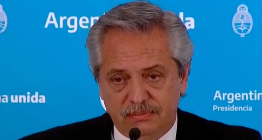 Alberto Fernández anticipó que el Gobierno analiza pagar dos meses juntos del plus de $10.000
