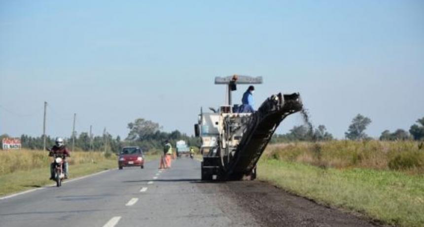 Vuelve el financiamiento para continuar la reparación de la Ruta Nacional 11 y otros corredores viales