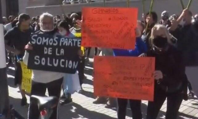 Los gimnasios reaccionaron contras las medidas de la provincia: