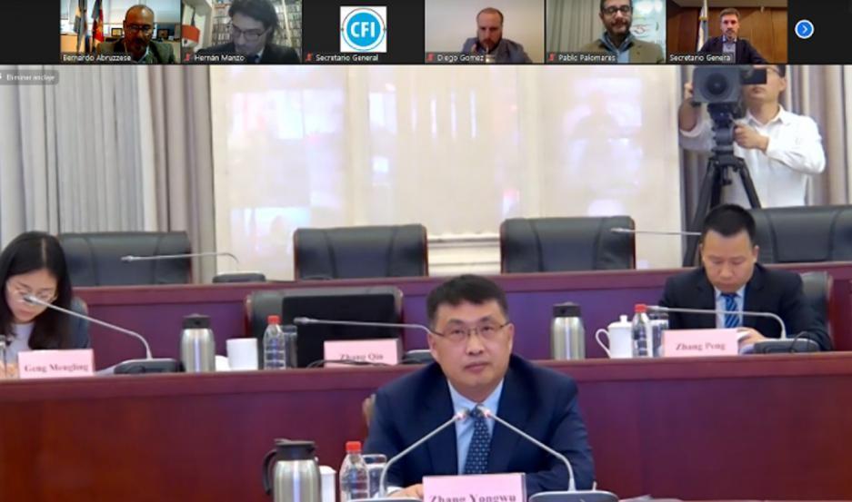 Santiago del Estero, presente en reunión de cooperación con municipio chino