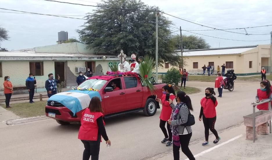 FOTOS Y VIDEO   Así fue la emocionante procesión del Señor de Mailín