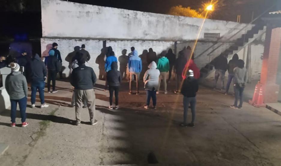 Pozo Hondo: Más de una veintena de detenidos, y vehículos secuestrados por incumplir las restricciones sanitarias
