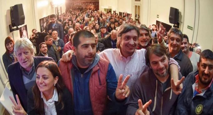 Máximo Kirchner, de campaña: