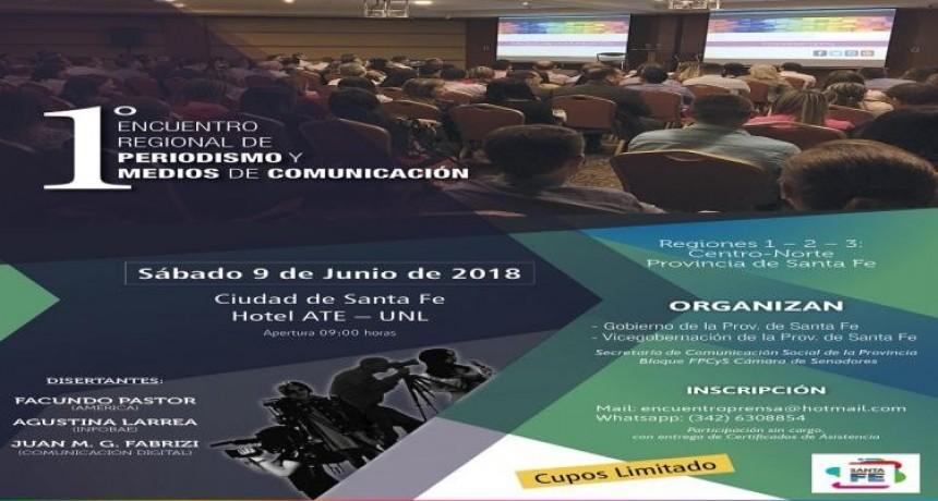 """""""1° Encuentro Regional de Periodismo y Medios de Comunicación"""""""