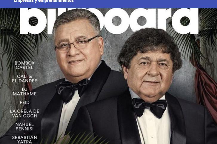 Histórico: Los Palmeras llegaron a la tapa de la prestigiosa revista internacional Billboard