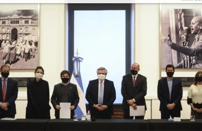 Perotti firmó un acuerdo con la Nación para dinamizar la obra pública y privada y las industrias relacionadas con la construcción
