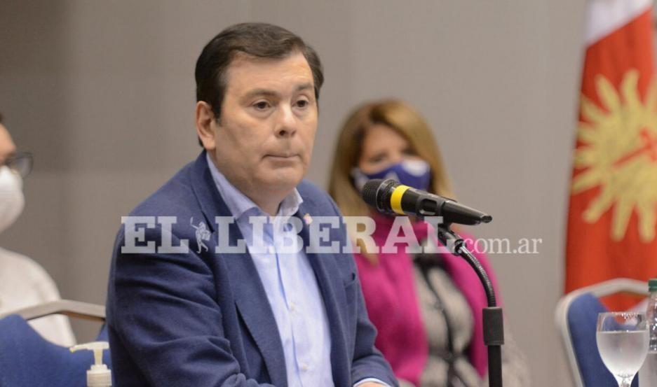 Las frases más destacadas de la conferencia del gobernador Gerardo Zamora