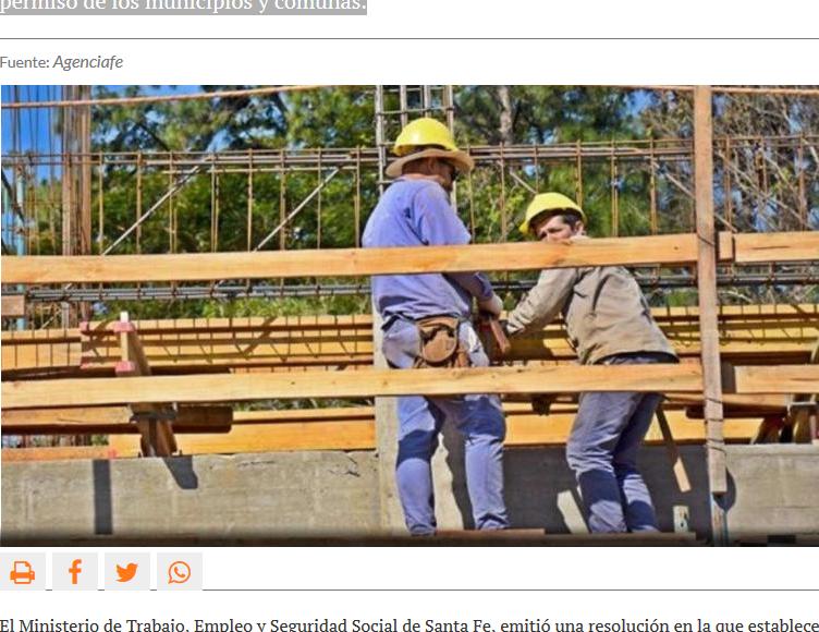 Las obras particulares con más de 10 trabajadores deberán ser autorizadas