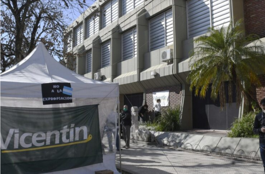 Según una encuesta, el 46 por ciento se opone a la expropiación de Vicentin