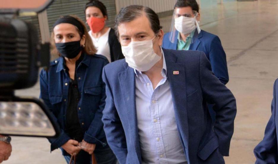 El hermano del gobernador Zamora anunció que le dieron de alta este mediodía