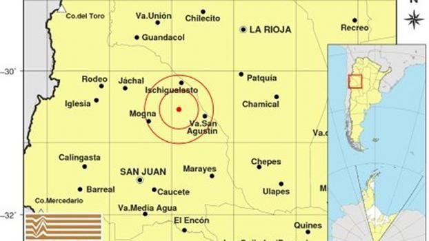 Un sismo se registró en San Juan y se sintió en varias provincias