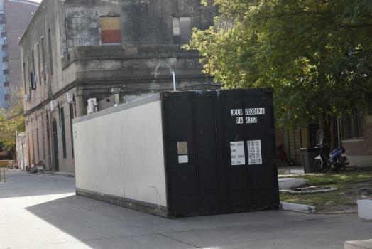 Para evitar un posible colapso de la morgue, instalan una cámara frigorífica en el Hospital Cullen