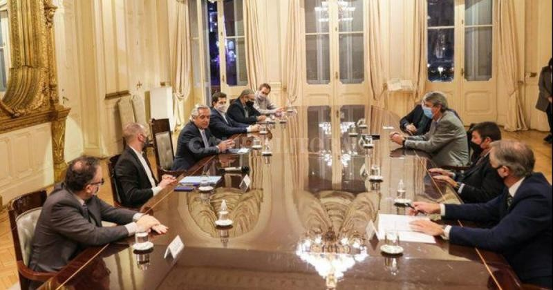 Fernández recibió al Consejo Agroindustrial Argentino