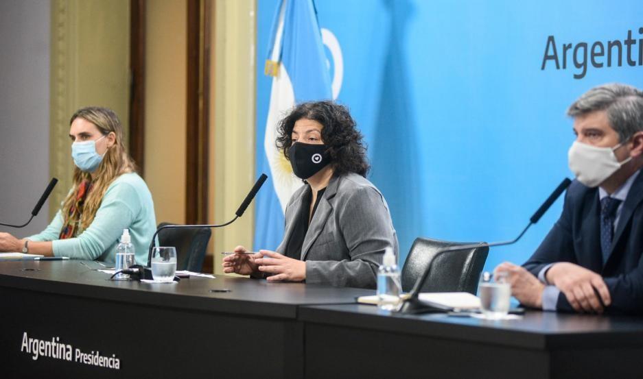 La ministra Carla Vizzotti llega a Santiago del Estero