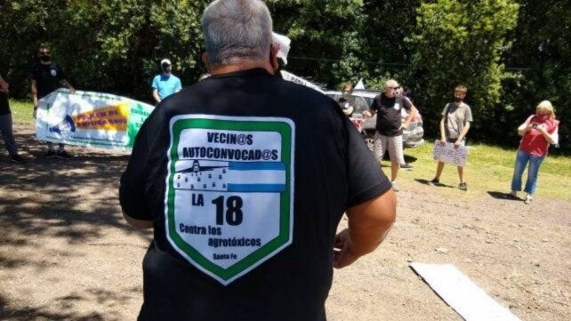 Pueblos fumigados de la ruta 18 elevan sus reclamos al gobernador