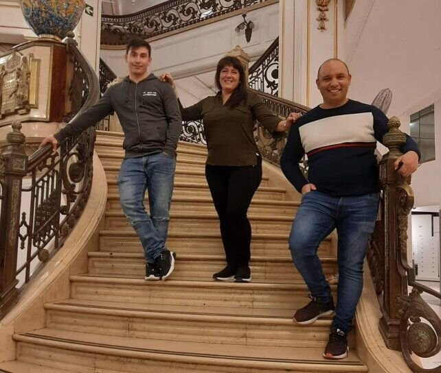 Tres ex empleados de Falabella se reciclan como empresarios