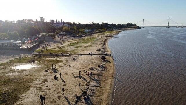 El río Paraná tiene la altura más baja en 50 años: